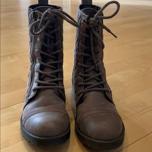 Mossimo Supply Co. Tan Combat Boots